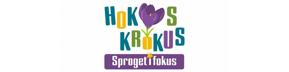 Logo Hokus Krokus Sproget i fokus