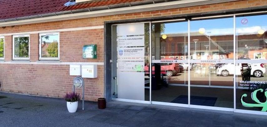 Foto af Svebølle Kvik Bibliotek udefra